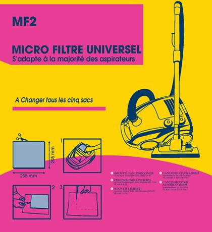 Filtre à découper BLANC ( 220mm x 150mm  ) – MF2