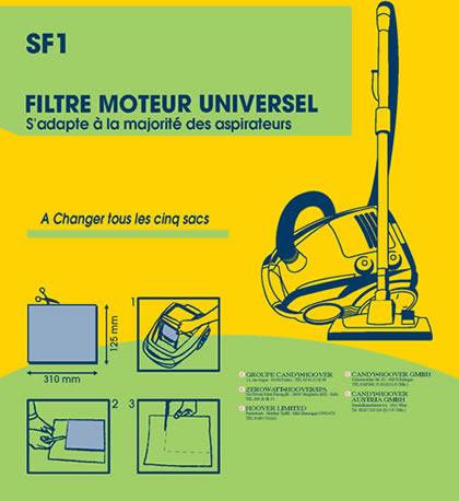 Filtre à découper Moteur Noir ( 250 mm x 200 mm ) – SF1